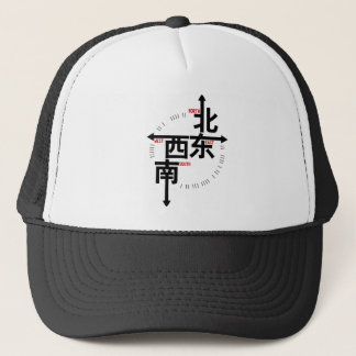 North South East West in Kanji Cap