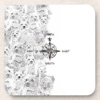 North South East & Westie Dog Coaster