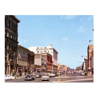 North St., Pittsfield, MA Vintage Postcard