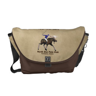 North Star (Moose) Polo Club Courier Bag