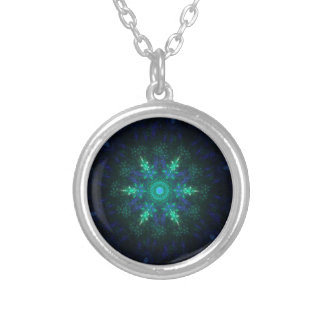 North Star Silver Plated Necklace