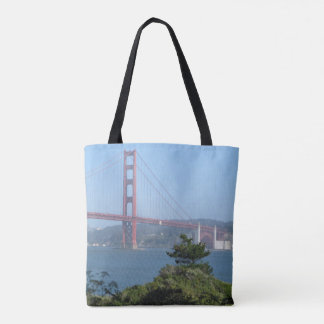 North Tower of the Golden Gate Bridge Tote Bag