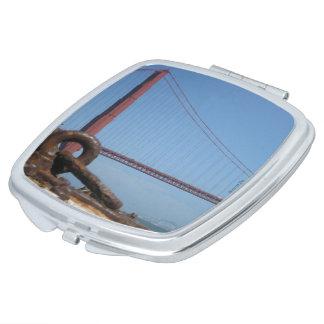 North Tower of the Golden Gate Bridge Travel Mirror