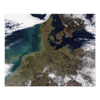 North Western Europe Photographic Print