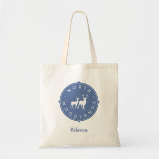 North Woodlands Personalised Tote Bag