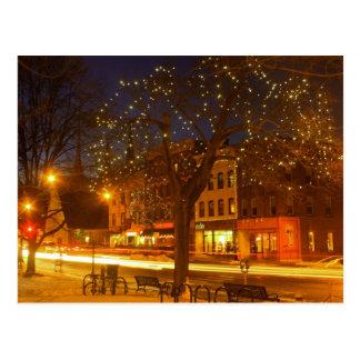 Northampton Downtown Lights Postcard