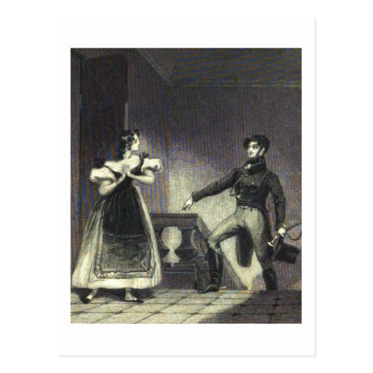 Northanger Abbey - Jane Austen Postcard