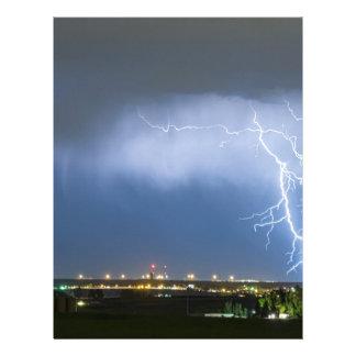 Northeast Colorado Lightning Strike and City Light Customized Letterhead