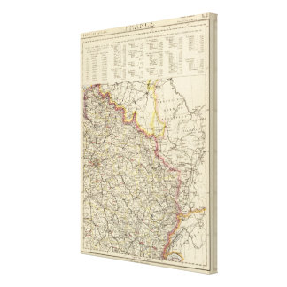 Northeast France Canvas Print