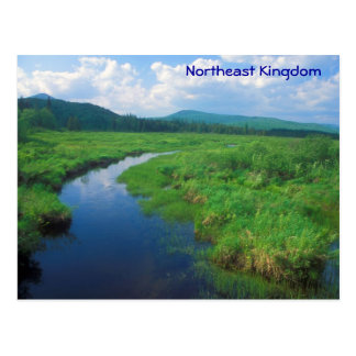 Northeast Kingdom Vermont Victory Bog Postcard