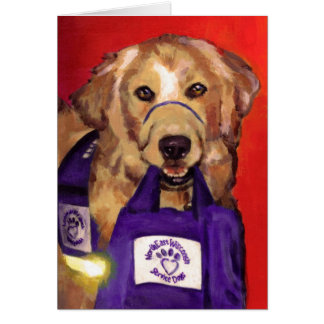 Northeast Wisconsin Service Dogs Card