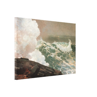 Northeaster, 1895 gallery wrapped canvas