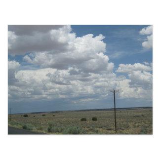 Northeastern Arizona Dry Plains Postcard