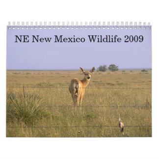 Northeastern New Mexico Wildlife 2009 Calendars