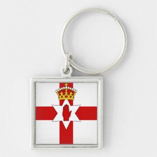 Norther Ireland ulster flag Keychain