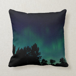 Norther  Lights - Aurora Borealis - Throw Pillow