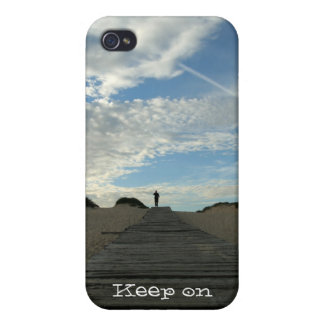 Northern Beaches 'Track' iPhone 4 case