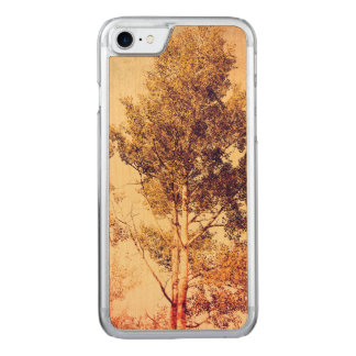 Northern Birch Trees Art Carved iPhone 8/7 Case