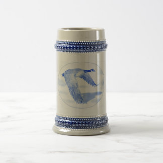 """Northern Bound"" Goose Beer Stein"