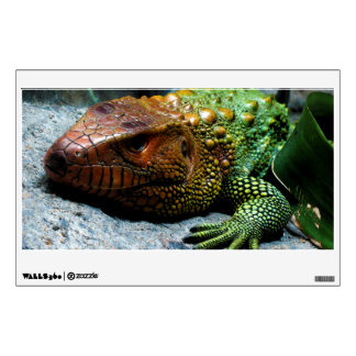 Northern Caiman Lizard Dracaena Guianensis Wall Sticker