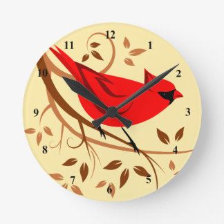Northern Cardinal Clocks