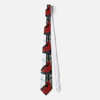 Northern Cardinal Photo Tie