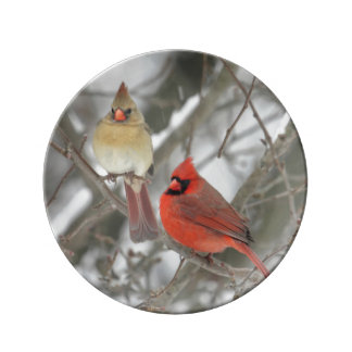 Northern Cardinals Plate