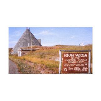 Northern Cheyenne Montana, Reservation Tribe Canvas Prints