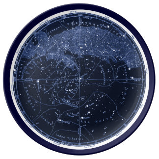 Northern Constellations Plate