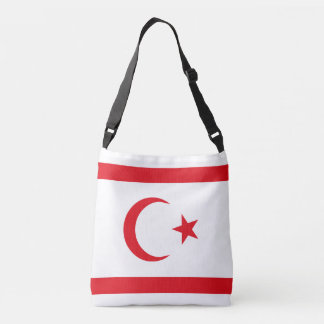 Northern Cyprus Flag Crossbody Bag