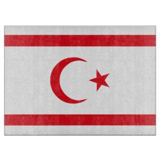 Northern Cyprus Flag Cutting Board