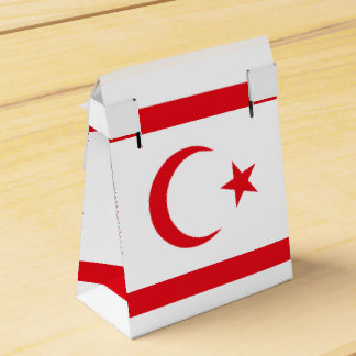 Northern Cyprus Flag Favor Box