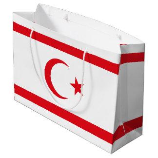 Northern Cyprus Flag Large Gift Bag