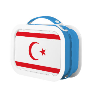 Northern Cyprus Flag Lunch Box