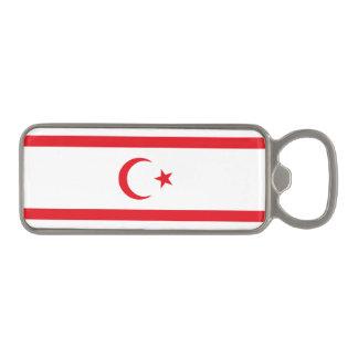Northern Cyprus Flag Magnetic Bottle Opener