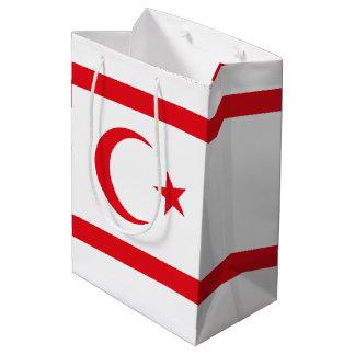 Northern Cyprus Flag Medium Gift Bag
