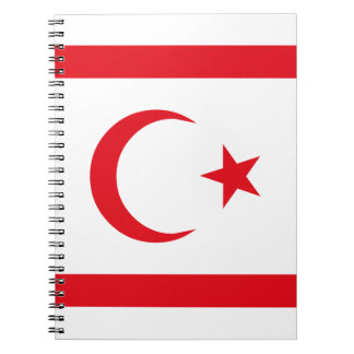 Northern Cyprus Flag Notebook