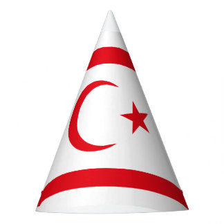 Northern Cyprus Flag Party Hat