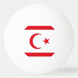 Northern Cyprus Flag Ping Pong Ball