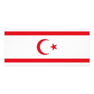 Northern Cyprus Flag Rack Card