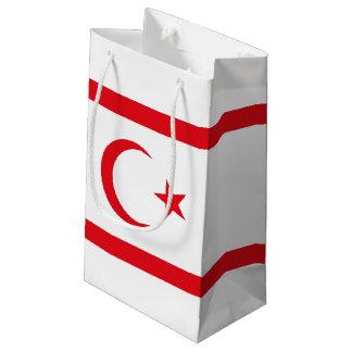 Northern Cyprus Flag Small Gift Bag