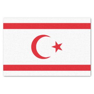 Northern Cyprus Flag Tissue Paper