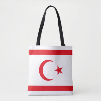 Northern Cyprus Flag Tote Bag