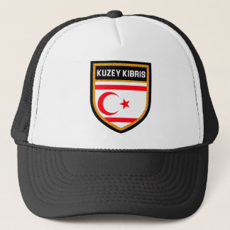 Northern Cyprus Flag Trucker Hat