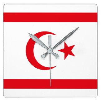 Northern Cyprus Flag Wall Clocks