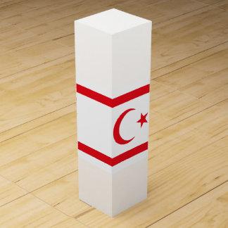 Northern Cyprus Flag Wine Gift Box