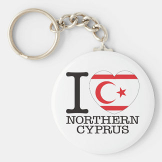 Northern Cyprus Love v2 Keychain