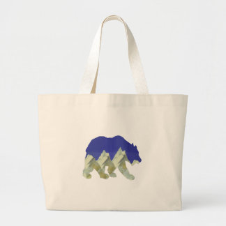 Northern Escape Large Tote Bag