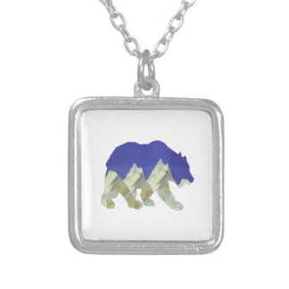 Northern Escape Silver Plated Necklace