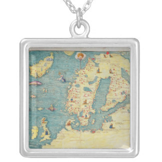 Northern Europe Silver Plated Necklace